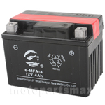 12V 4Ah Battery for ATVs, Dirt Bikes, Go karts, Best Quality Guaranteed