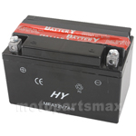 12V 7Ah Battery for ATVs Dirt Bikes Scooters Go karts(No Acid)