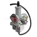30mm Carburetor w/Hand Choke Lever for 200cc-250cc ATVs, Dirt Bikes, Go Karts PZ30