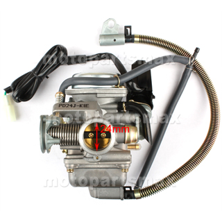 Terrific A Carburetors 24Mm Carburetor W Electric Choke For Gy6 150Cc Wiring Cloud Favobieswglorg