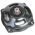 7 tooth gearbox for 2-stroke 49cc Engine Vehicle