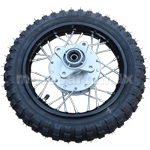 "10"" Rear Wheel Assembly for 50cc-110cc Dirt Bikes"