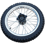 "14"" Front Wheel Rim Tire Assembly for HONDA XR50 CRF50 125 Dirt Pit Bike"