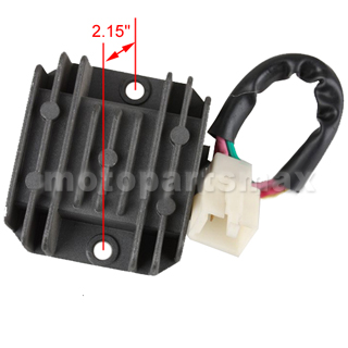 atv 250cc manual clutch w reverse water cooled made by zongshen x pro® 4 pin voltage regulator for 150cc 250cc atvs dirt