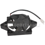 Promax Electric Radiator Cooling Fan for 200cc 250cc Water cooled Engine ATVs, Go Karts, Dirt Bikes