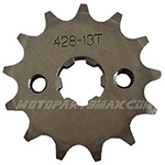 X-PRO® 428 Chain 13 Tooth Front Engine Sprocket for 110cc-125cc Dirt Bikes, ATVs, Go Karts