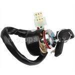 Ignition Key Switch for ATVs