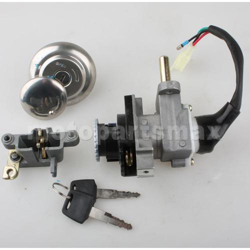 a key switch assembly x pro ignition switch key set. Black Bedroom Furniture Sets. Home Design Ideas