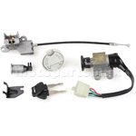X-PRO® Ignition Switch Key Set for GY6 50cc 150cc Scooters