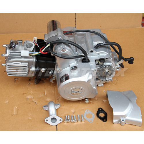 110cc 4-stroke Engine | Motor Auto w/Reverse, Electric Start ATVs Go Karts