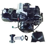 110cc 4-stroke Engine Motor Semi Auto w/Reverse, Electric Start fit 50cc, 70cc, 90cc, 110cc ATVs and Go Karts