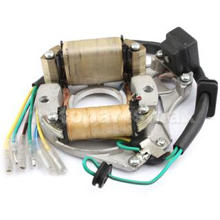 2 Coil Full Wave Magneto Stator For 50cc 70cc 90cc 110cc 125cc ATVs