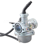 25mm Carburetor w/Hand Choke Lever for 125cc ATVs, Dirt Bikes, Go Karts