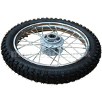 "14"" Front Wheel Rim Tire Assembly for 70-125cc Dirt Bikes"