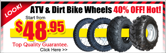 atv & pit bike wheels