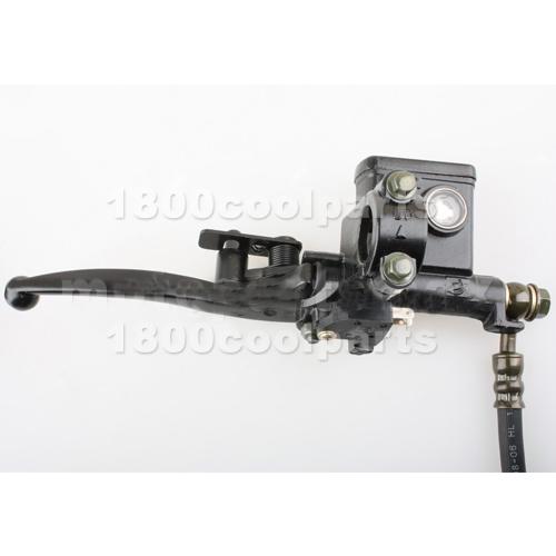 Four Wheeler Hydraulics : Atv rear hydraulic brake assembly cc