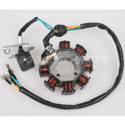 Four Wheeler Coils : Chinese atv stator magneto coils cc dirt bikes