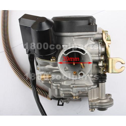 Moped Carburetor Parts : Mm scooter moped cc carburetor carb roketa sunl gy