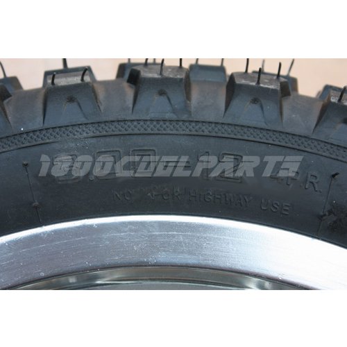 12 Rear Wheel Tire Honda XR50 CRF50 Pit Dirt Bike 110cc 125cc 140cc