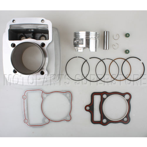 Cylinder Kit Honda 63 5mm Piston CG200 200cc Air Cooled Engine Dirt