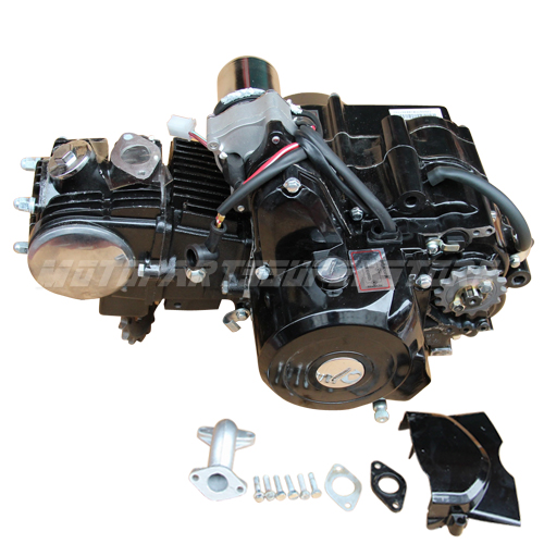125cc motor engine atv go kart auto w reverse fit 50cc. Black Bedroom Furniture Sets. Home Design Ideas