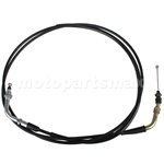 "X-PRO® 79"" Throttle Cable for GY6 50cc Scooters Roketa Taotao Sunl"