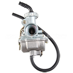 16mm Carburetor w/Hand Choke Lever for 50cc-70cc 4-stroke ATVs, Dirt Bikes