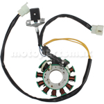 11-Coil Magneto Stator for 200cc-250cc Water cooled ATVs, Dirt Bikes, Go Karts