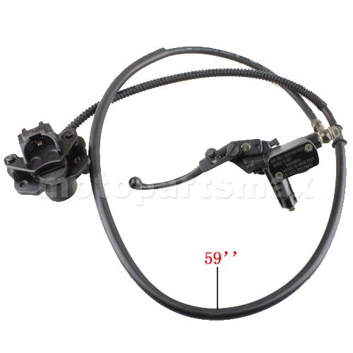 A Hydraulic Brake Assembly X Pro Rear Hydraulic Brake