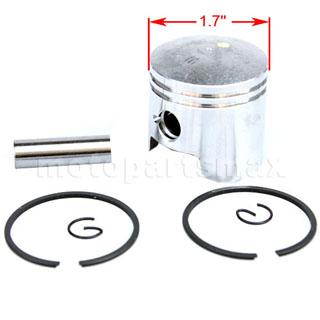 A Pistons - Piston Kit for 2-stroke 47cc, 49cc Engine Pocket
