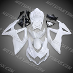SUZUKI GSXR600-750 2008-2009 08-09 ABS Fairing Set --- Unpainted