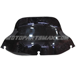 "10"" Chopped Black Windshield Harley FLHTC FLHT FLHX 1997-2013 97 98 99 00 01 02"