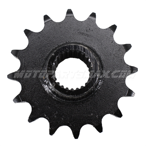 A Sprockets - 530 Chain 17 Tooth Front Engine Sprocket for