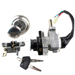 Promax Ignition Switch Key Set for GY6 50cc & 150cc Scooters Moped