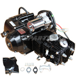 110cc 4-stroke Auto w/Reverse Engine Motor, Electric Start for 50cc 70cc 90cc 110cc Go Kart ATV