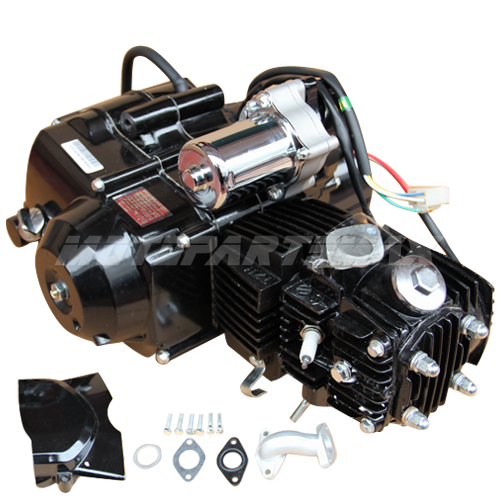 A Engine Assembly - 110cc 4-stroke Auto w/Reverse Engine