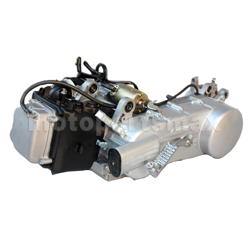 A Engine Assembly - Long Case 150cc 4-stroke GY6 Moped