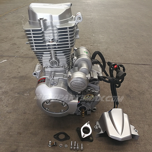 A Engine & Engine Parts - 4-stroke Vertical ATVs Engine with Manual