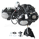 125cc 4-stroke ATV Engine Semi-Auto Transmission w/Reverse, Electric Start for most China made 125cc ATVs & upgrading 50cc-110cc ATVs