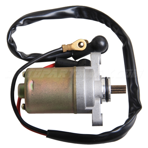 A Starter Motors - 9 Tooth Starter Motor for 2 stroke 49cc