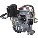 PD18 Carburetor w/Electric Choke for GY6-50cc Scooter