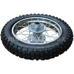 "12"" Rear Wheel Rim Tire Assembly for 70cc-125cc Dirt Bikes"