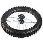 "19"" Front Wheel Rim Tire Assembly for 125cc - 250cc Dirt Bikes"