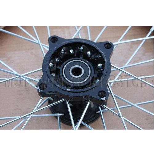 14 White Front Rim Wheel Honda XR50 CRF50 110cc 125cc 140cc 150cc